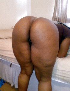 Perky fully nude old black granny,..