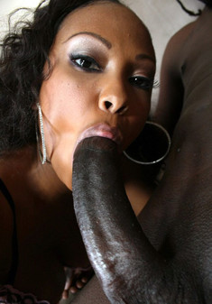 Hardcore black porn with thin ebony..