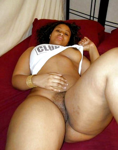 She is fat black BBW and ready to try..