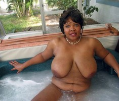 Real natural black BBW women, huge..