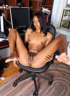 Lonely black girls show their nude..