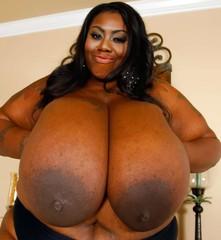 Ebony bbw breast